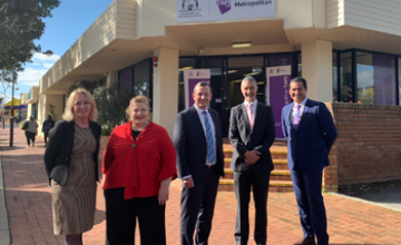Terry Durant, Sue Ellery and Mark McGowan announce a new Armadale campus